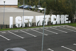 Get Creative letters, with the Businesses at the Bedford Ilab. We played with the phrase, making anagrams.